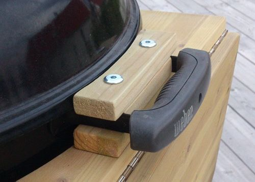 Diy Folding Table For Weber Grill Utomhuskok Eldstad Utomhus