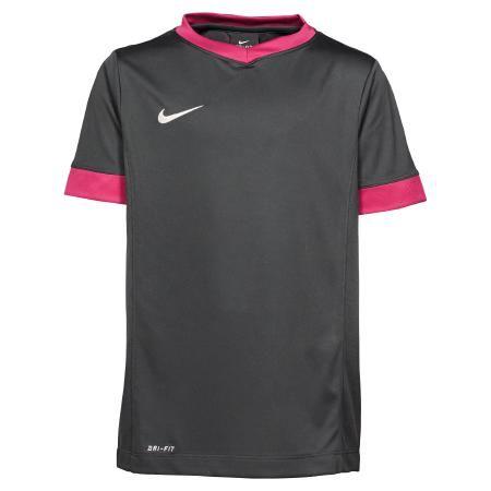3b96ec3ceb9b36 Nike Short Sleeve Trainingsshirt Kinder T-Shirt   schwarz-lila     günstige  Sportbekleidung