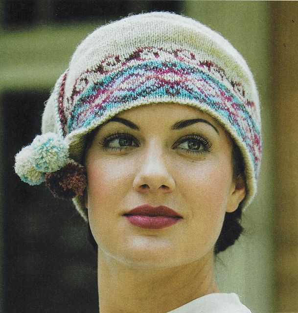 Fetching Fair Isle Cap pattern by Anne Carroll Gilmour | Ravelry ...