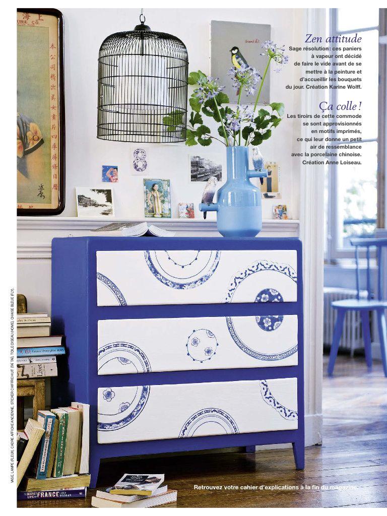 Anne Loiseau Marie Claire Idees Mobilier De Salon Decoration Tiroir