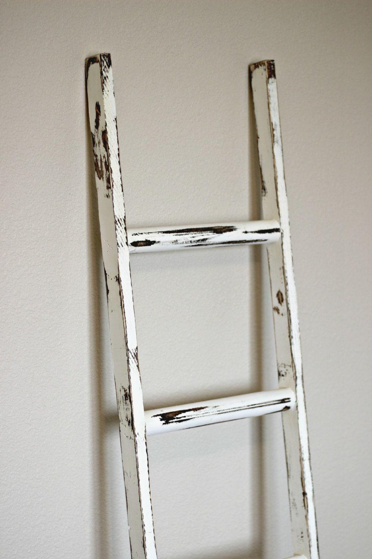 Ladder Rustic Blanket Ladder Rustic Furniture Diy White Wood Furniture