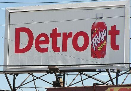 Faygo... a Michigan Original.  Had know idea they are to blame for Michiganders call soda...pop!