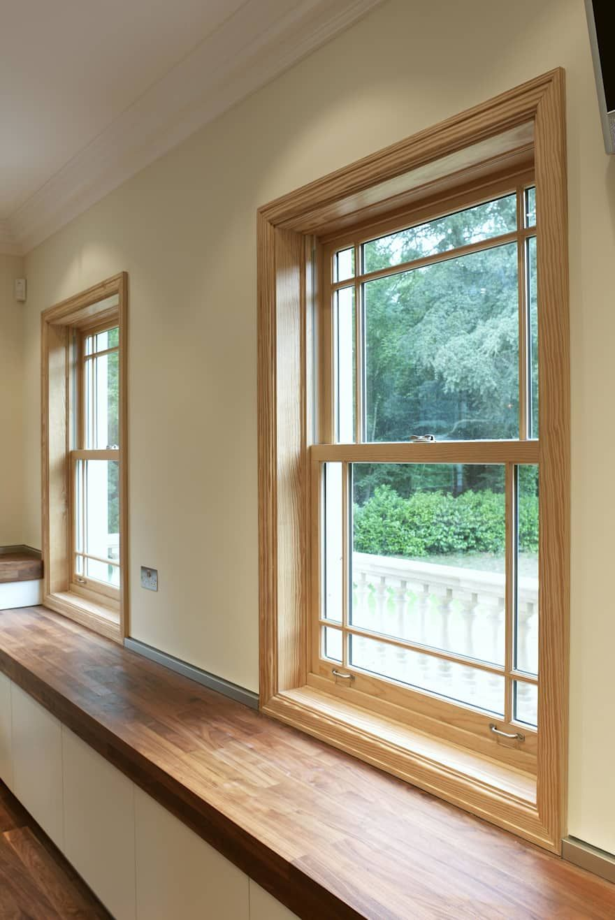 Classic wooden window design ideas & pictures l homify   Wooden ...
