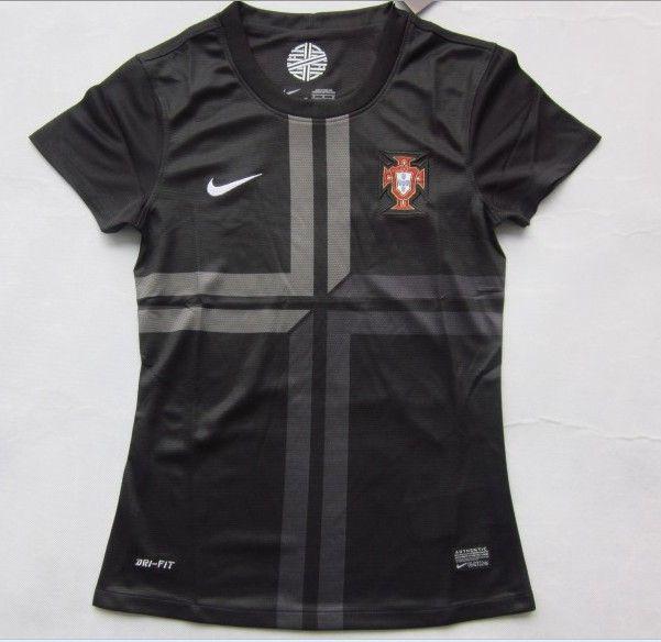 595fd3234f Selección de Portugal Away 2013 2014 Mujer  131  - €16.87   Camisetas de  futbol baratas online!