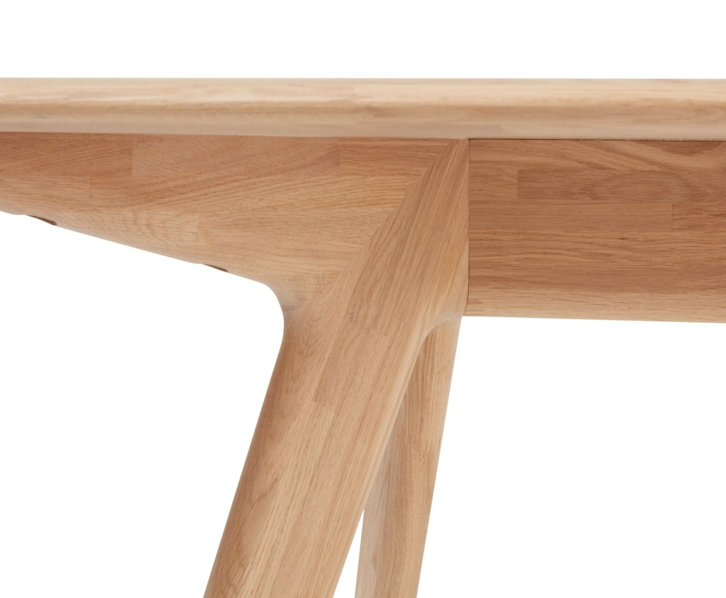 Tom Dixon Slab Dining Table Natural Oak Dining Table Table
