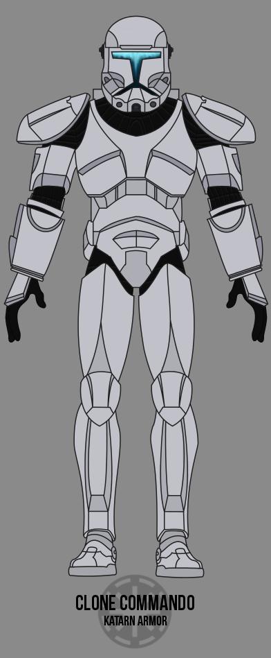 Clone Trooper Commander Phase I Armor By Bcmatsuyama On Deviantart