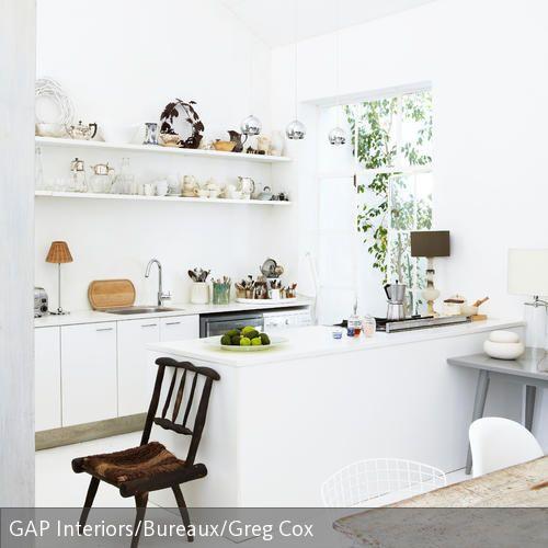 Mit Holzmöbeln warme Akzente setzen House - küche vintage look