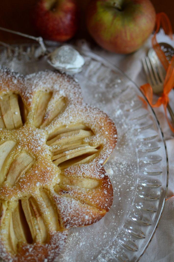 Torta finissima di mela - tarte moelleuse aux pommes