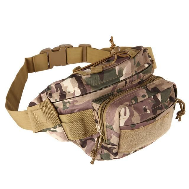Tactical Waist Pack Belt Bag Camping Outdoor Hiking Military Molle Pouch Wallet