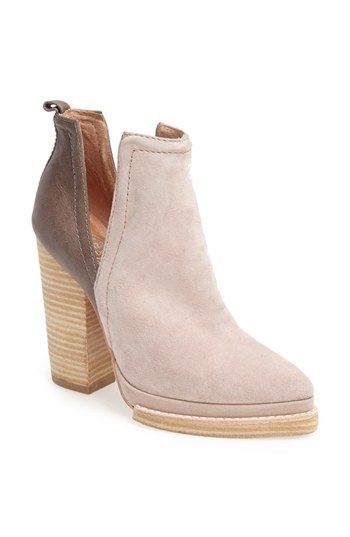 Jeffrey Campbell 'Who's Next' Leather Bootie available at #Nordstrom