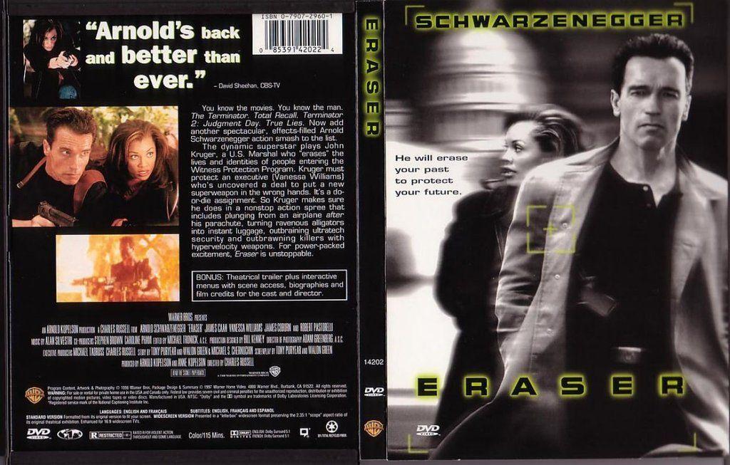 Eraser 1996 Brrip 720p H264 True Lies Schwarzenegger Arnold Schwarzenegger