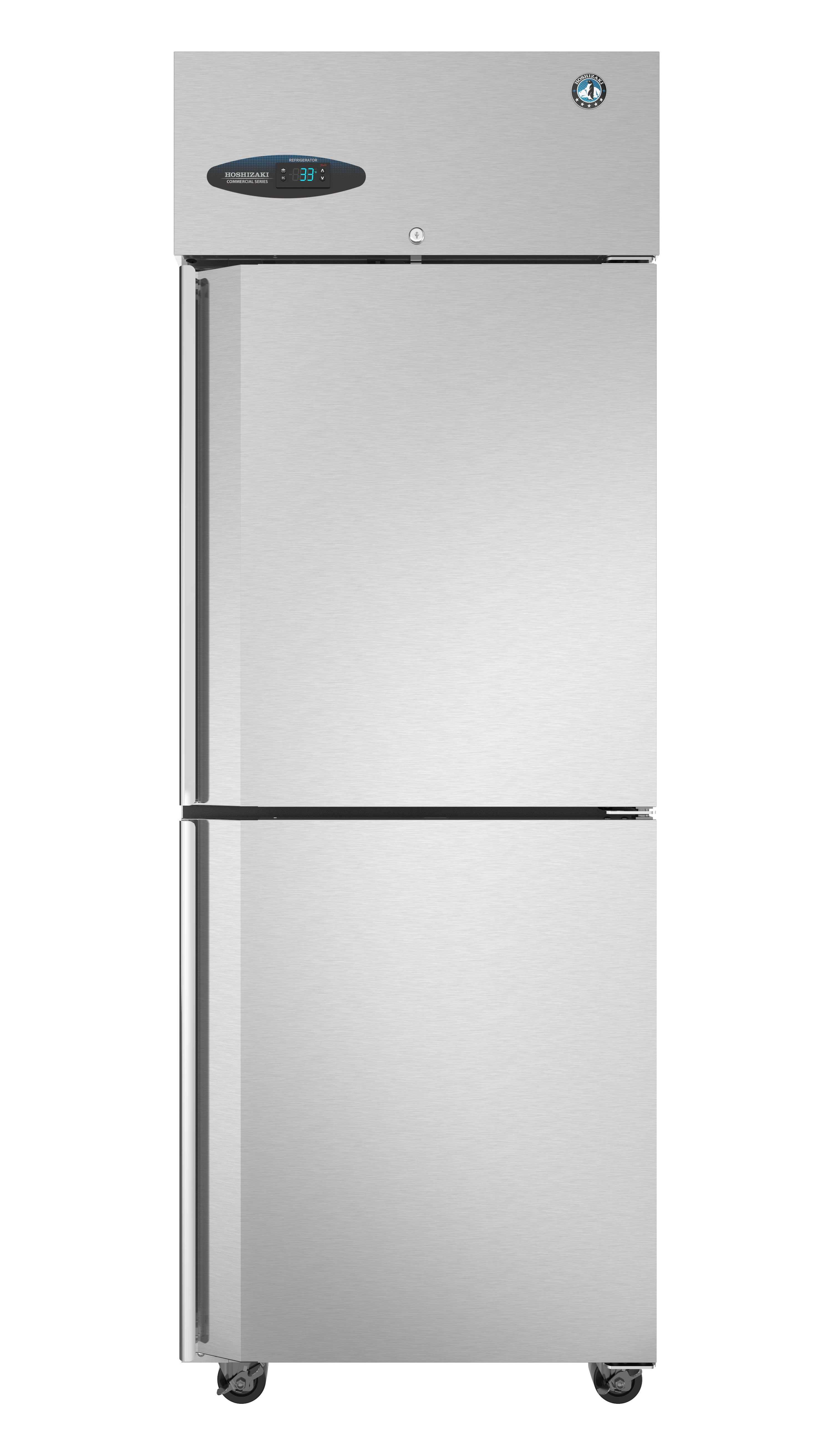 Small Stand Up Freezer Cf1s Hs Freezer Single Section Upright Half Stainless Doors
