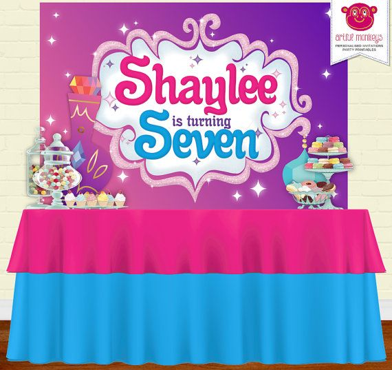 SHIMMER and SHINE Genies Party Game Poster Birthday Party Supplies ~ Activities