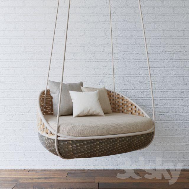 Dedon Swingrest | 3dsky models | Pinterest | Balkon-gärten ...