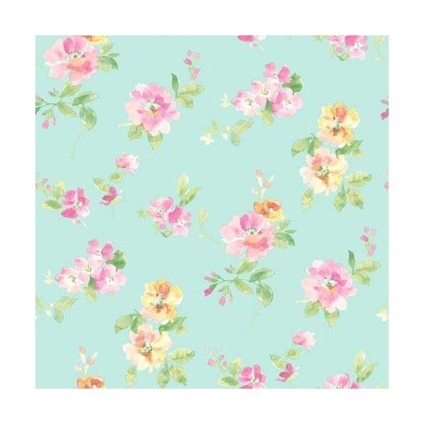 Brewster has54595 captiva aqua floral toss wallpaper aqua floral brewster home fashions captiva floral toss wallpaper turquoiseblue turqaqua mightylinksfo