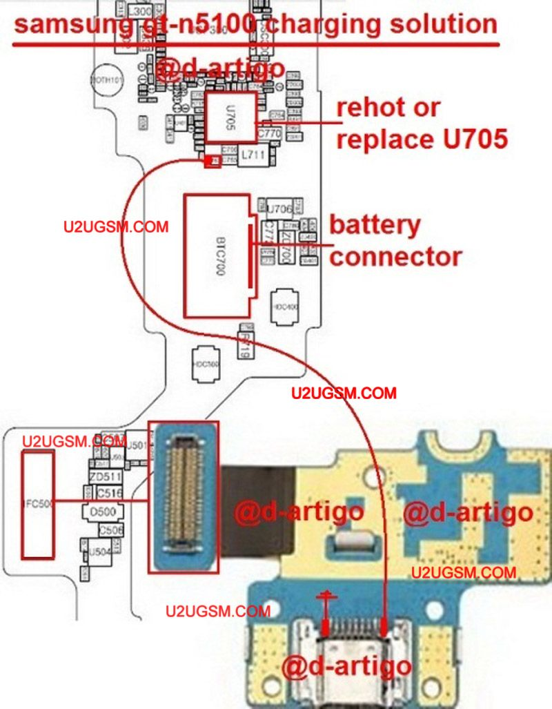 samsung galaxy note gt n5100 usb charging problem solution jumper ways is not working repairing diagram easy steps to solve full tested [ 800 x 1027 Pixel ]