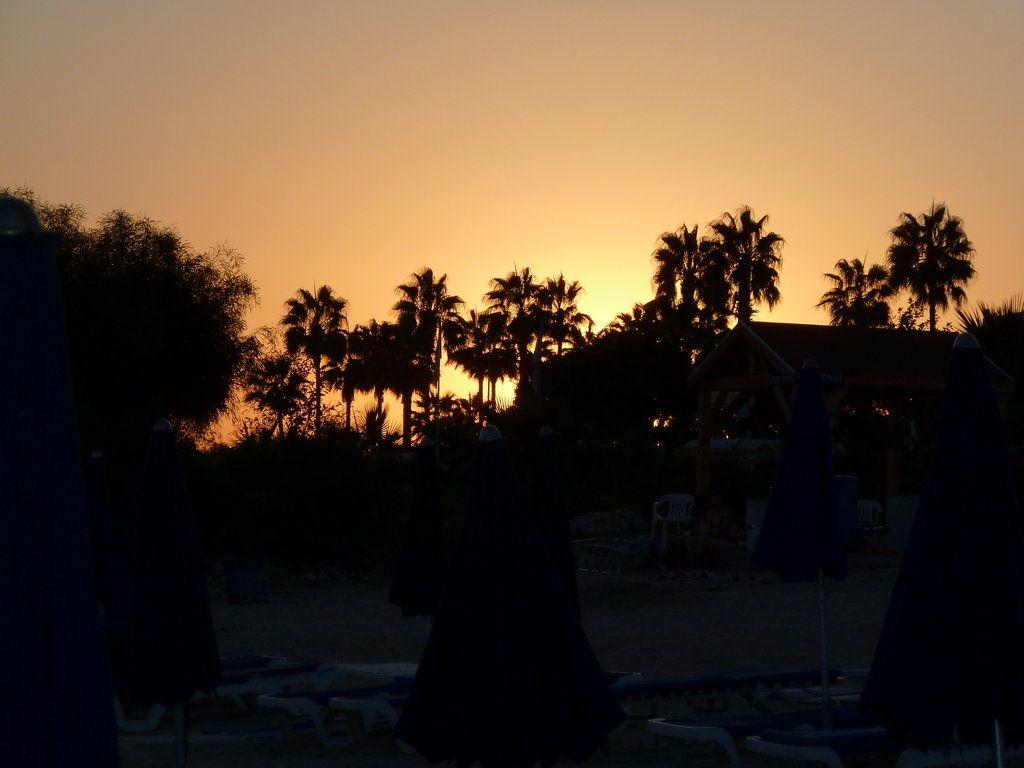Abenddämmerung vom Strand