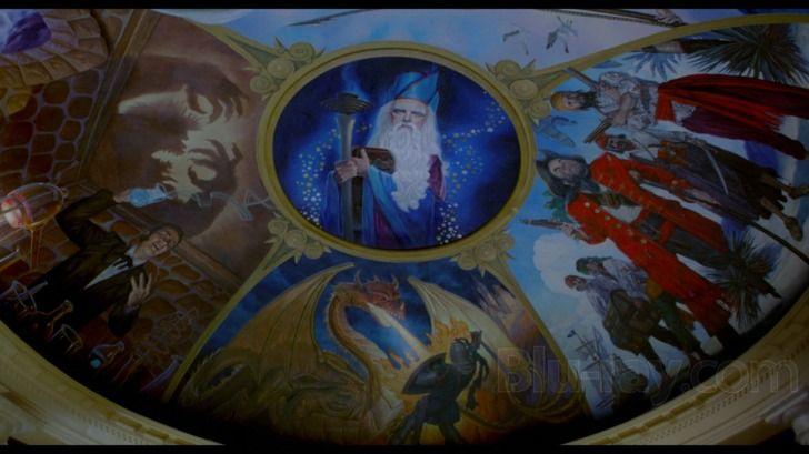 Pagemaster Dr Jekyll: The PageMaster Ceiling Painting
