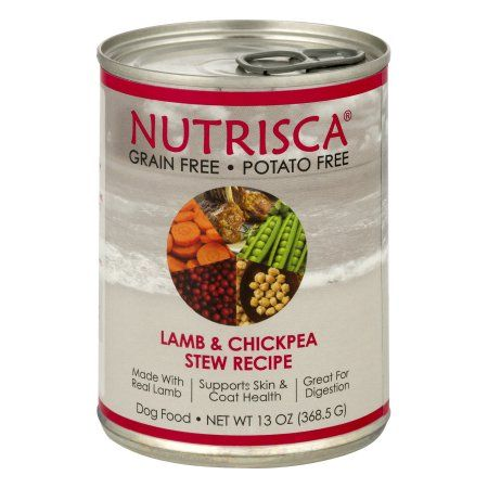 Nutrisca Dog Food Lamb Chickpea Stew Recipe 13 0 Oz Products