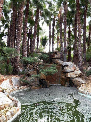 Estanque en el parque de La Huerta-Albatera (Alicante)