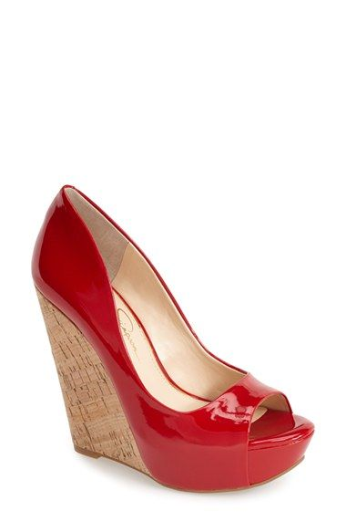 Jessica Simpson 'Bethani' Wedge Platform Sandal (Women) available at #Nordstrom
