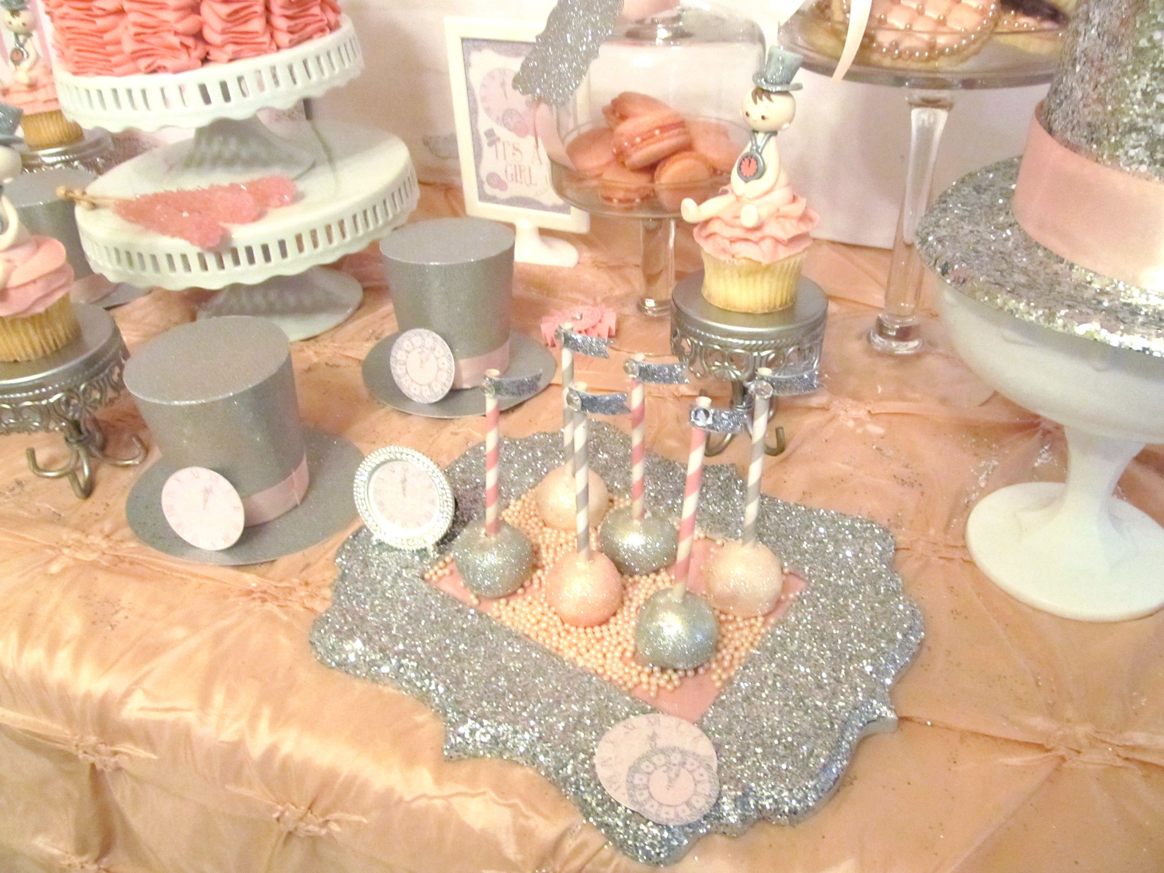glam baby shower theme google search