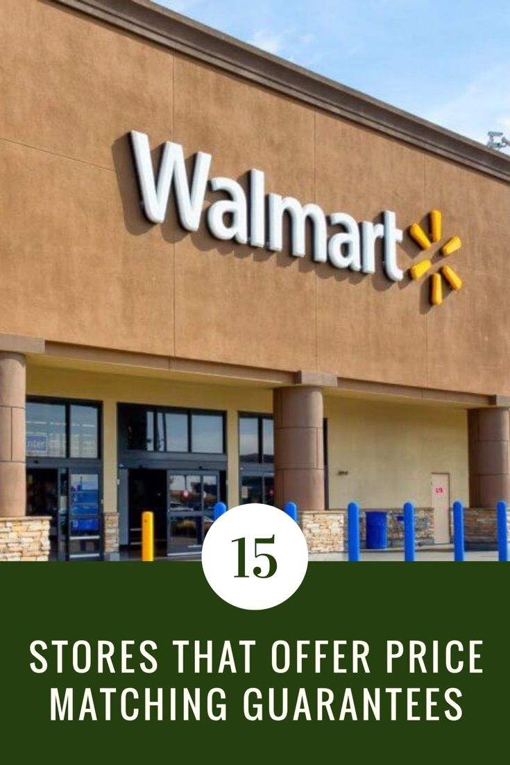 Your Complete Price Matching Guide Target Walmart Best Buy And More Walmart Coupon Walmart Walmart Store