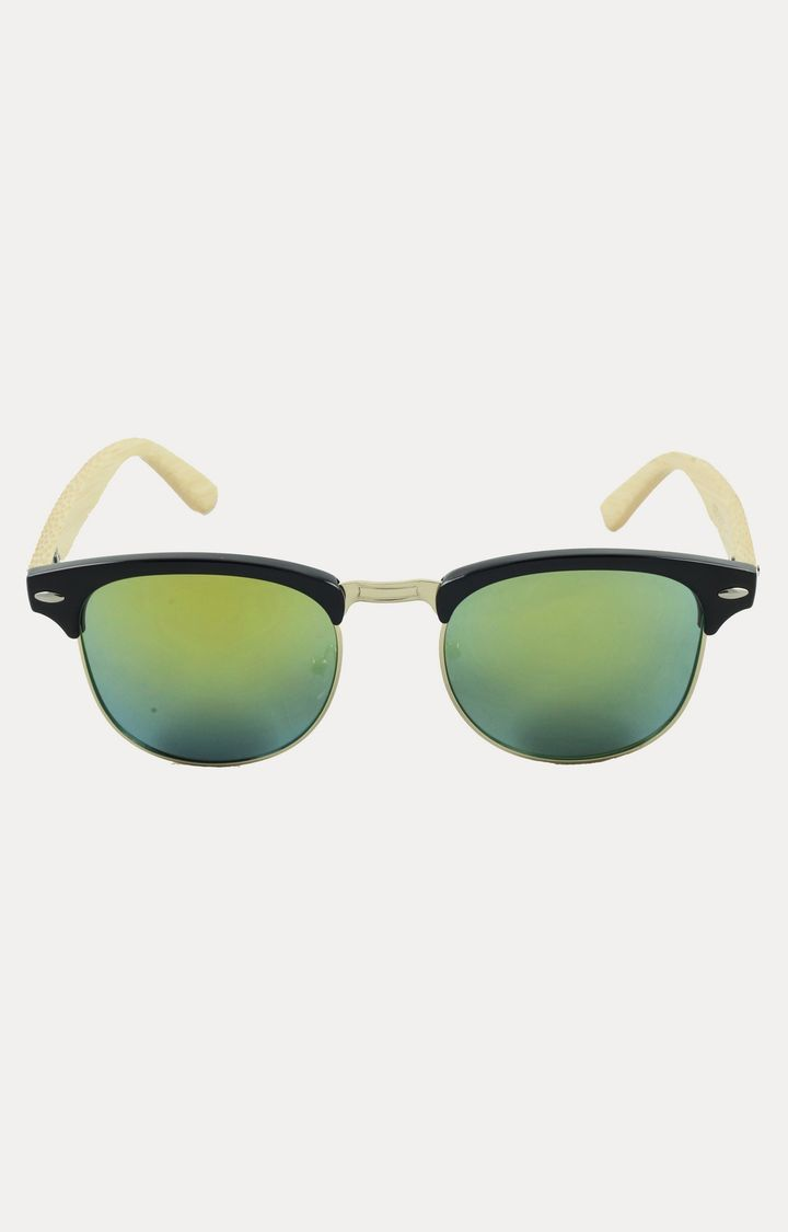 Hey, checkout this Yellow Browline Sunglasses from Woodons on Fynd.