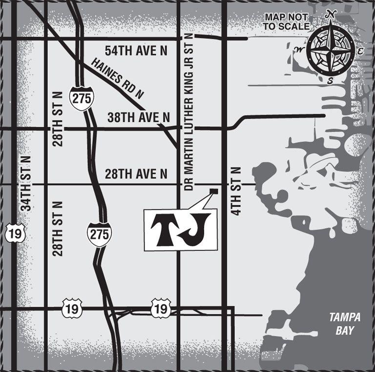St Pete Florida Map.Trader Joe S St Petersburg Fl Map 2742 4th St St Pete Pinterest