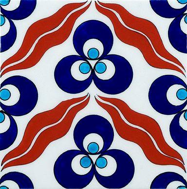 Art tiles from annsacks