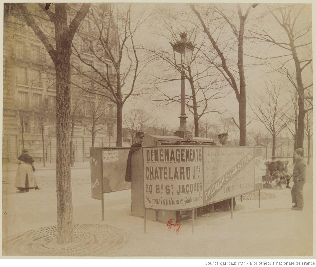 B d boulevard d 39 italie 1898 vespasiennes for Le pere du meuble furniture