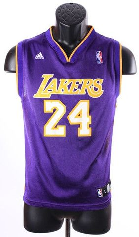 7d475141653a Runthatagain.com - Kobe Bryant Los Angeles Lakers Youth Adidas Jersey Size.  Large