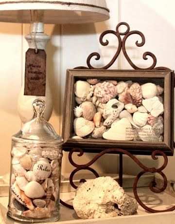 Shadow Boxes For Beach Rocks And Shells Decor Coastal Decorating Beach Crafts