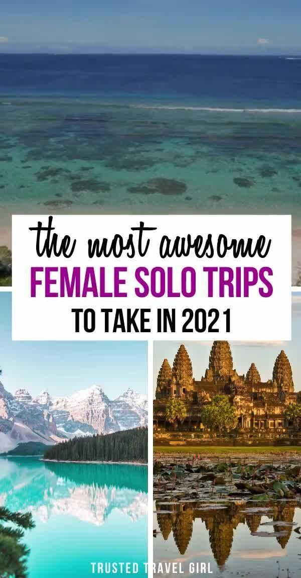Best Solo Female Travel Destinations — Trusted Tra