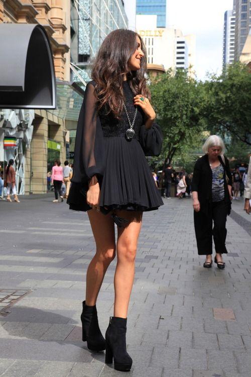 every women should hve black dress, i think :p