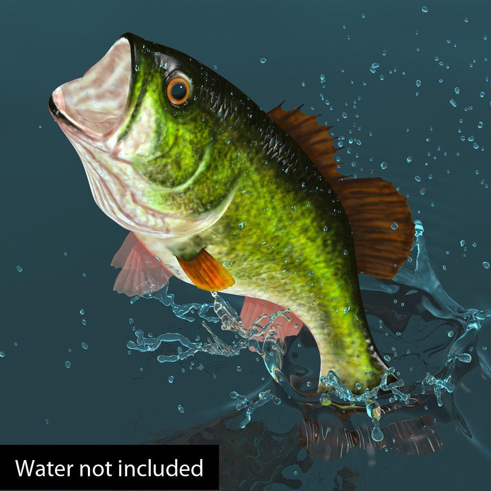 Lwo Largemouth Bass - 3D Model | 3D-Modeling | Pinterest ...