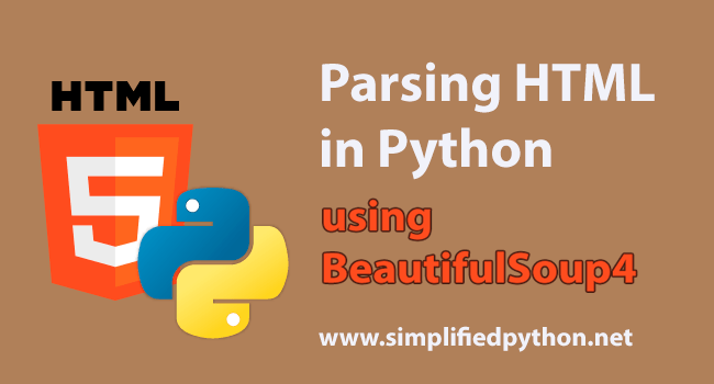 Parsing HTML in Python using BeautifulSoup4 Tutorial | Programming