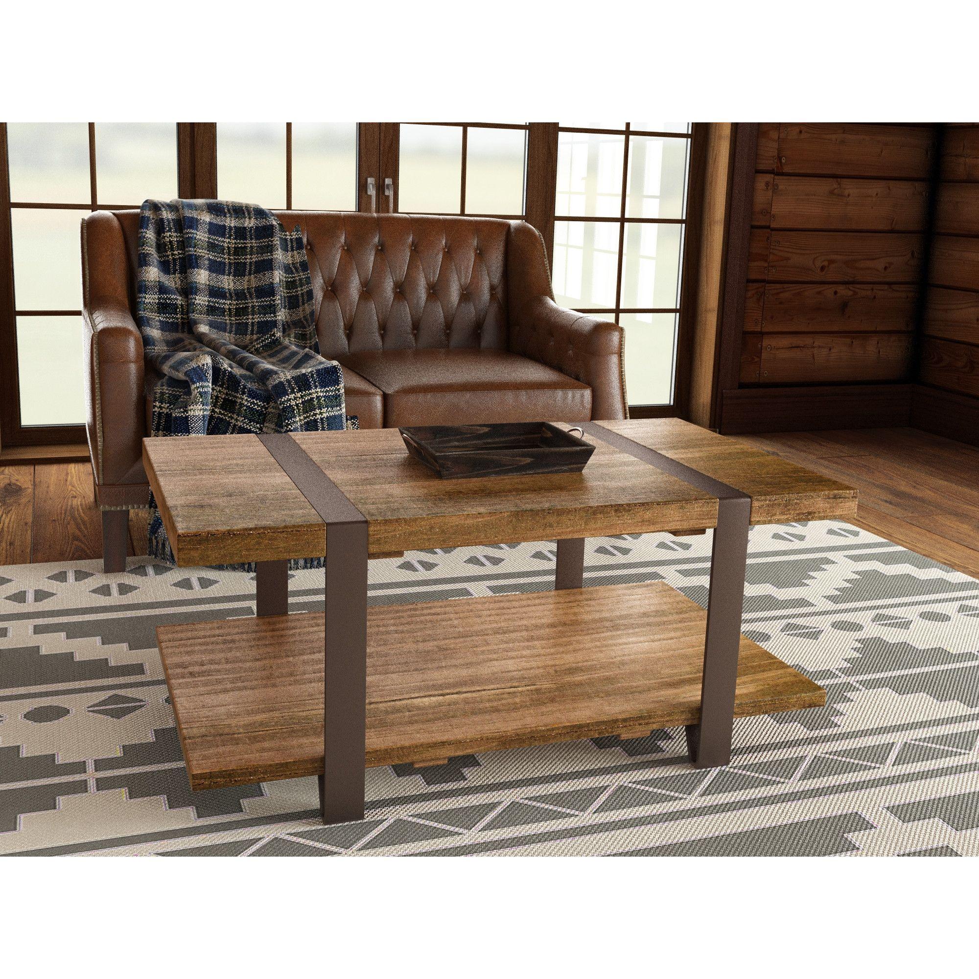 loon peak fallon coffee table & reviews | wayfair | office
