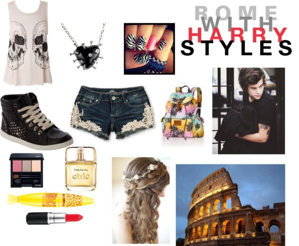 """Rome with Harry"" by rschaar ❤ liked on Polyvore"
