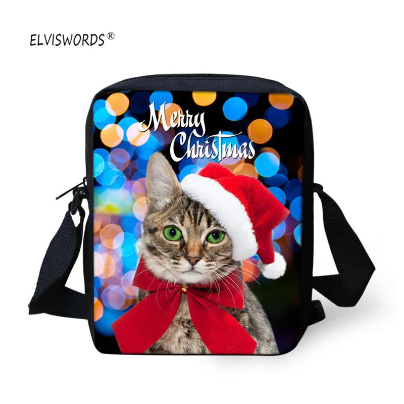 ELVISWORDS Cute Pug School bags 3d Animals Printing Messenger Bags  Crossbody Bags For Kids Shoulder Bags 290ba2a31c560
