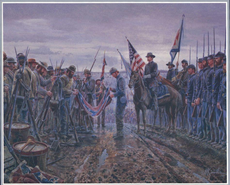 Details about Mort Kunstler SALUTE OF HONOR Framed Print Civil War ...