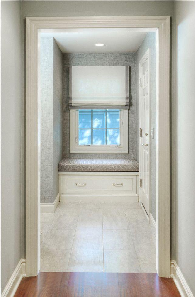 white color window seat | Benjamin Moore Paint Color. Benjamin Moore Navajo White ...