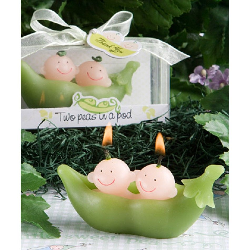 Two Peas In A Pod Collection Candle Favors 328 9430 Candles Whole Wedding Supplies Party