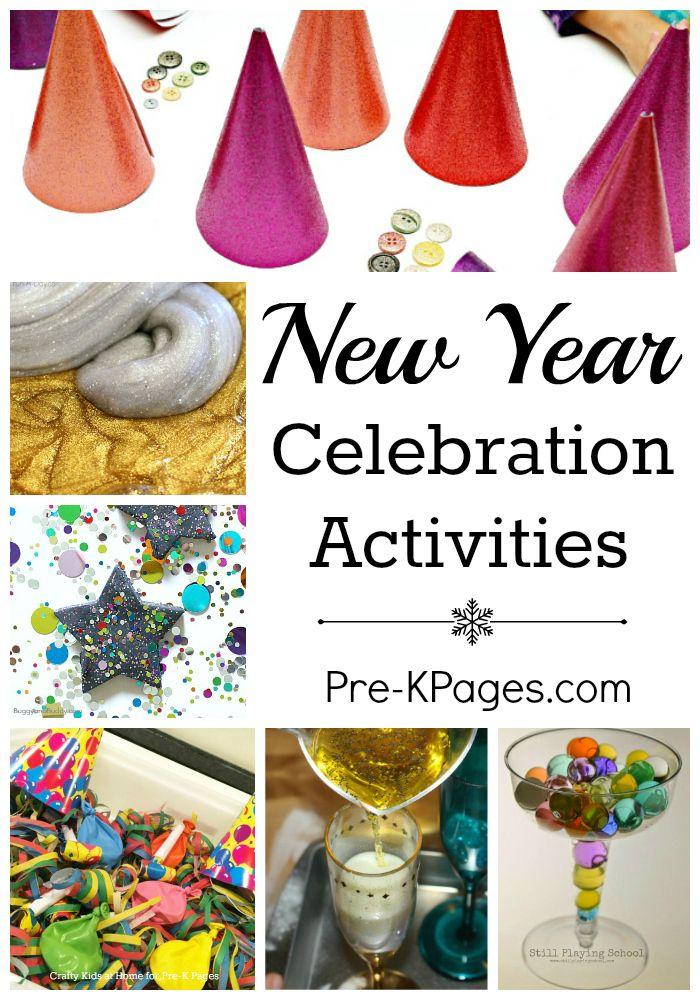 New Year Celebration Activities | New years activities ...