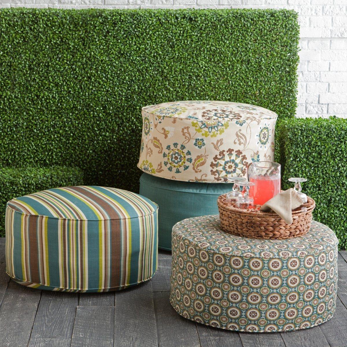 Big Round Chair Cushion Home Chair Designs In Round Outdoor Cushion