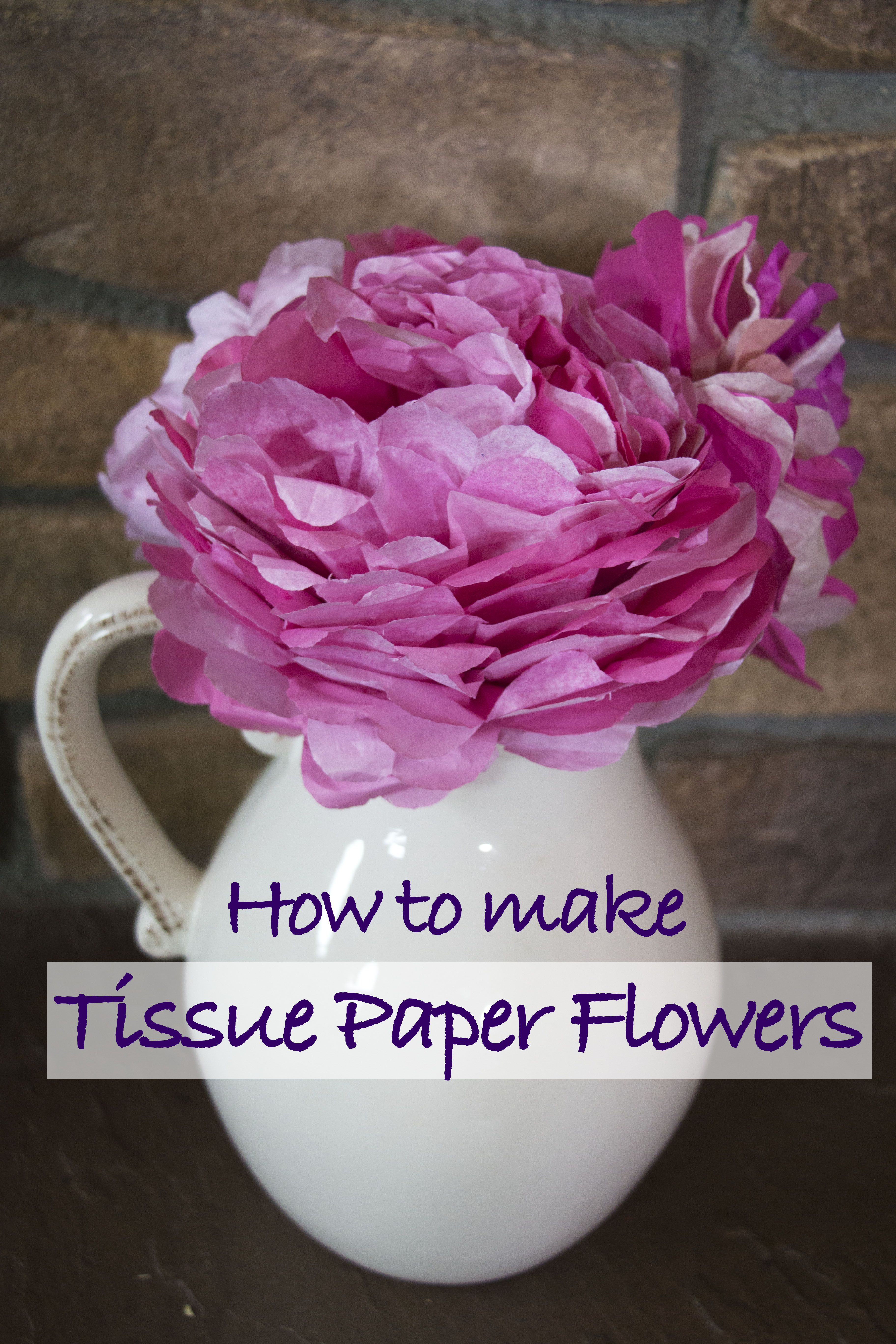 Discover How To Create Beautiful Tissue Paper Flowers They Are So