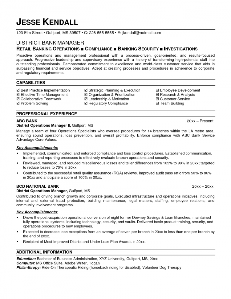 banking resume example bank job sample cover letter teller ...