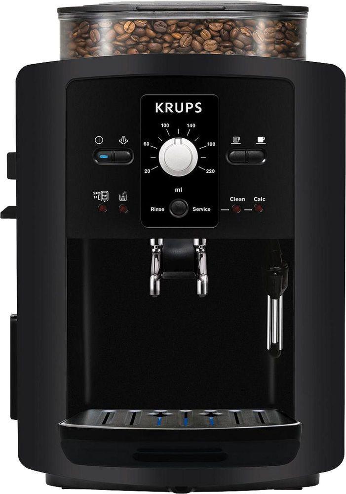 Krups Ea8000 Coffee Espresso Cappuccino Coffee Machine Fully Automatic Black Krups Coffee Cappuccino Machine Espresso Machine