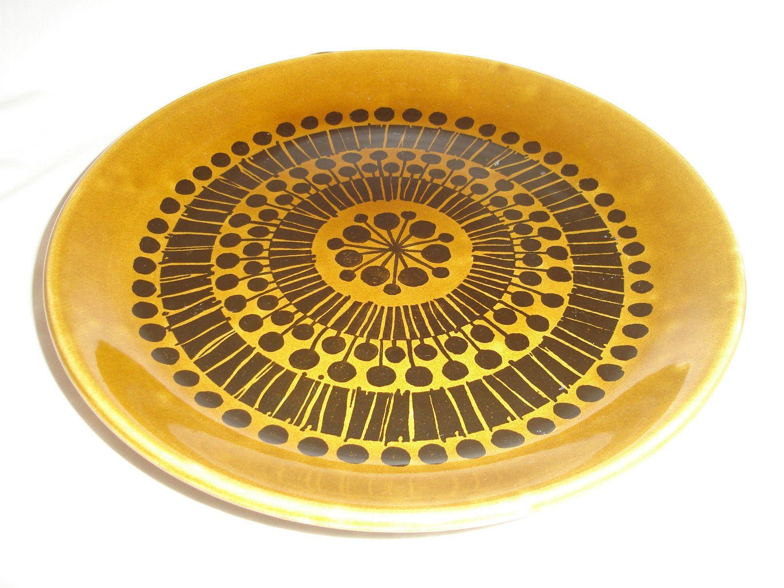 Vintage 1970s Biltons Staffordshire Dinner Plate Retro Design VGC ...