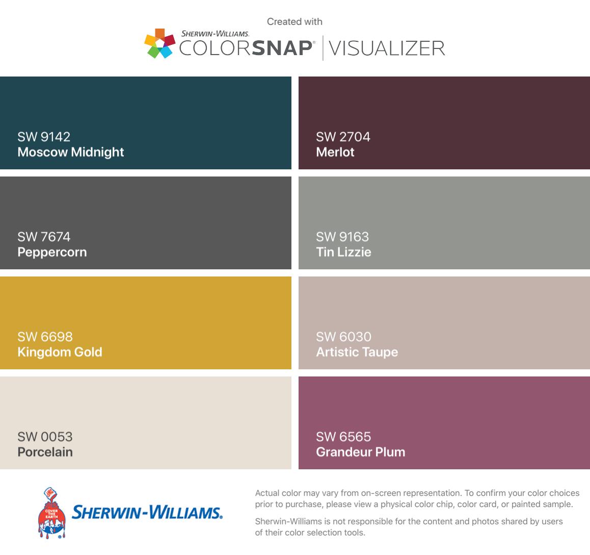 Paint Color Matching App Colorsnap Paint Color App Sherwin Williams Artofit